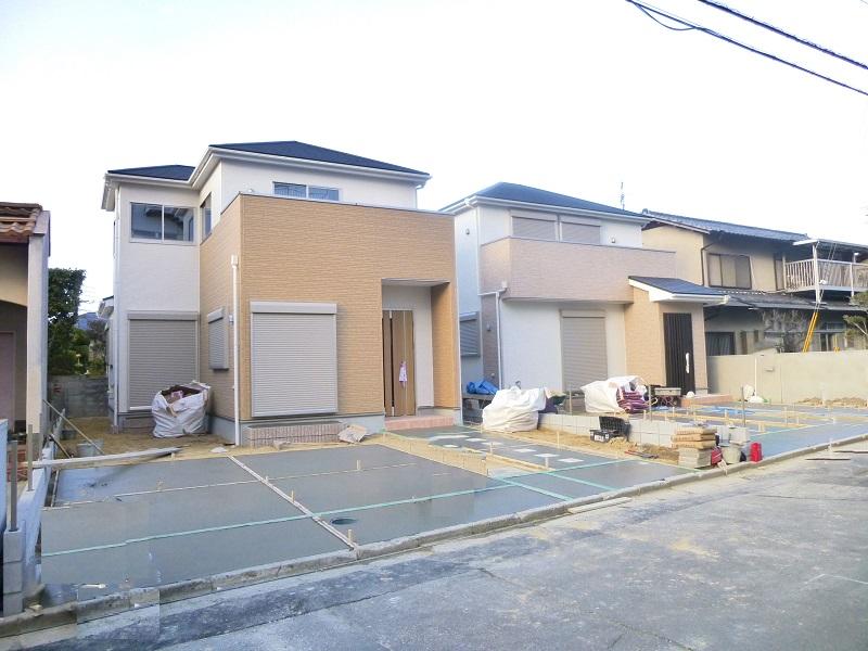 【奈良市第2学園緑ヶ丘 新築一戸建て 】外観写真