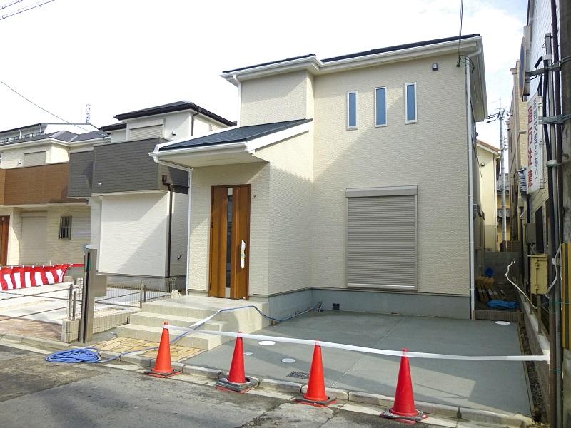 【奈良市杉ヶ町第2 新築一戸建て】外観写真