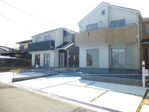 【三郷町三室第1 新築一戸建て 】外観写真
