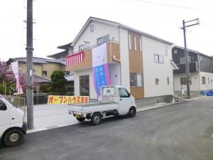 【天理市別所町第2 新築一戸建て】外観写真