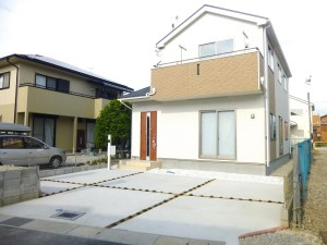 【桜井市戒重第1 新築一戸建て 】外観写真