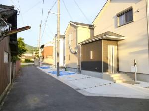 【天理市柳本町第4 新築一戸建て 】外観写真