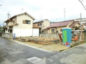 【大和高田市第1築山 新築一戸建て 】外観写真