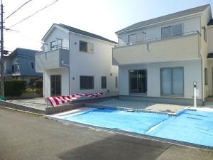 【奈良市学園大和町第5 新築一戸建て 】外観写真