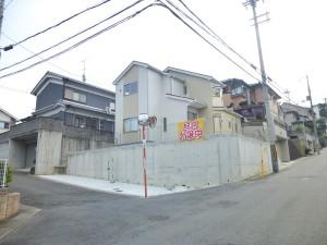 【香芝市旭ヶ丘第4 新築一戸建て】外観写真