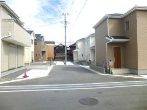 【天理市田井庄町 新築一戸建て 】外観写真