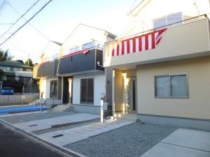 【奈良市富雄北第1 新築一戸建て】外観写真