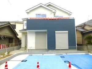 【奈良市法蓮町3期 新築一戸建て 】外観写真