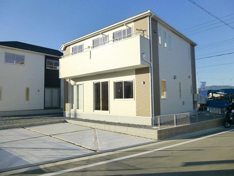 【木津川市城山台第8 新築一戸建て 】外観写真