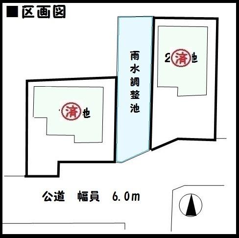 【桜井市大福4期 新築一戸建て】区画図面
