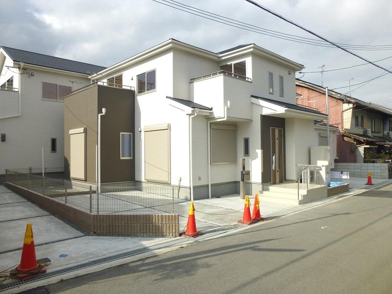 【桜井市粟殿 新築一戸建て 】外観写真