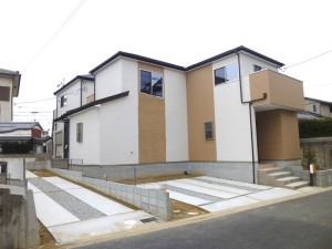 【奈良市第5五条畑 新築一戸建て 】外観写真