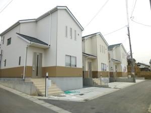 【奈良市奈良阪町第2・3 新築一戸建て】外観写真