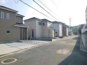 【奈良市左京 新築一戸建て 】外観写真