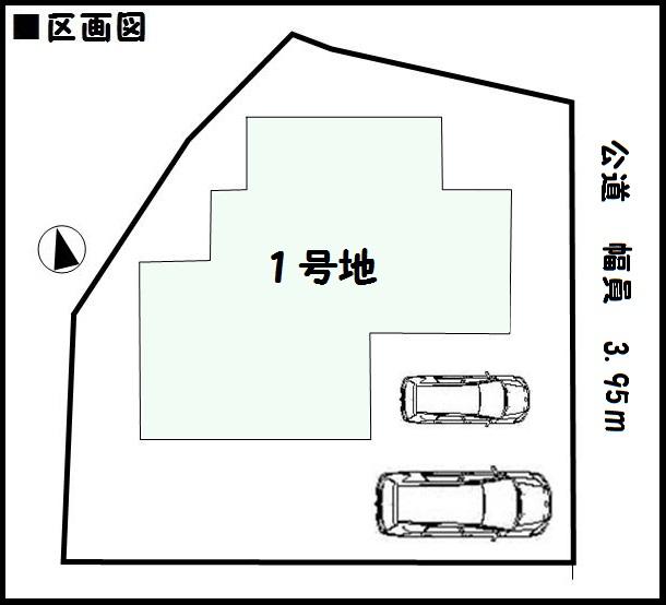 【橿原市第8西池尻町 新築一戸建て 】区画図面