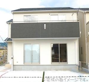 【奈良市三松第1 新築一戸建て 】外観写真