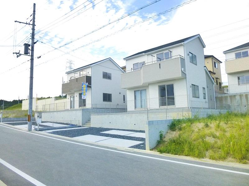 【木津川市城山台第19 新築一戸建て 】外観写真