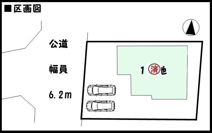 【大和郡山市筒井町 新築一戸建て 】区画図面