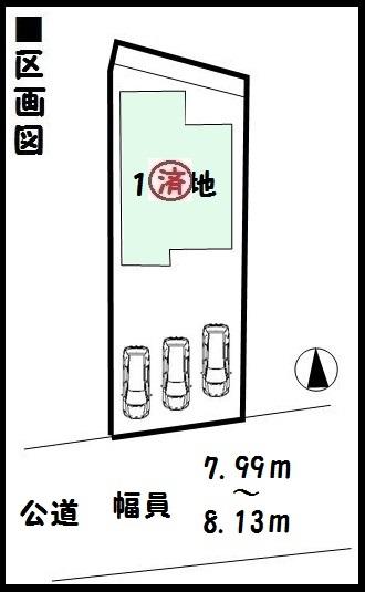 【橿原市雲梯町第2 新築一戸建て 】区画図面