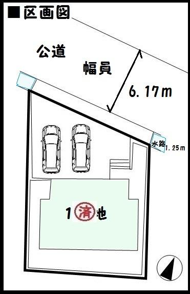 【桜井市東新堂第3 新築一戸建て 】区画図面