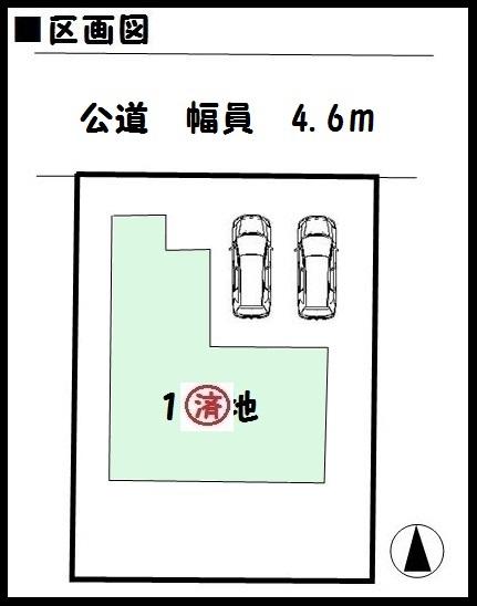 【田原本町八尾 新築一戸建て 】区画図面