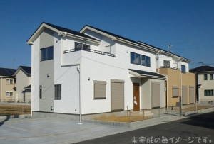 【三郷町三室1丁目 新築一戸建て 】外観写真