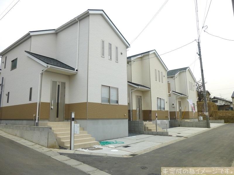 【大和郡山市小泉町第14 新築一戸建て 】外観写真