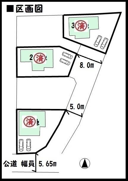 【王寺町本町第6 新築一戸建て 】区画図面