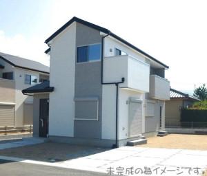 【奈良市第4三松 新築一戸建て 】外観写真