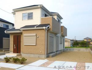 【奈良市第7六条 新築一戸建て 】外観写真