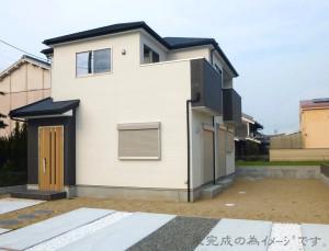 【生駒市第5松美台 新築一戸建て 】外観写真