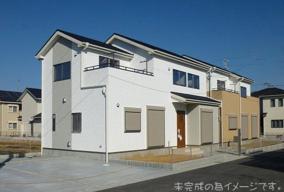 【香芝市下田東 新築一戸建て 】外観写真