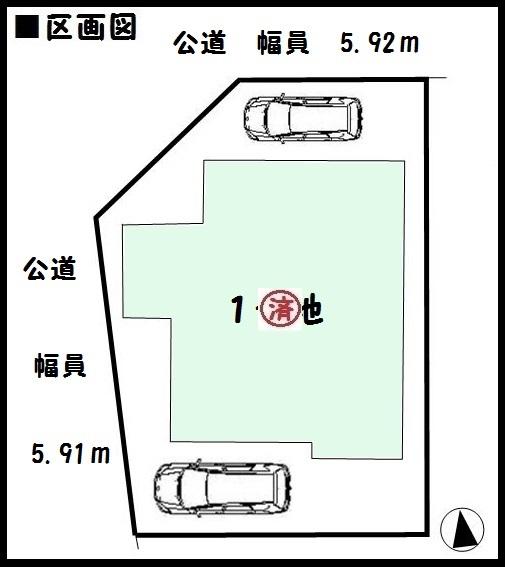 【大和郡山市第8小泉町 新築一戸建て 】区画図面