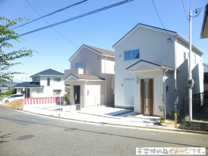 【奈良市西登美ヶ丘2期 新築一戸建て 残り1区画! 】外観写真