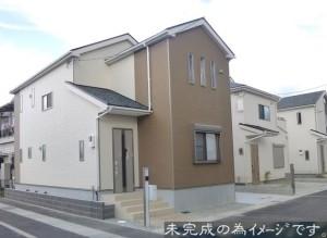 【大和高田市野口第1 新築一戸建て 限定3区画!】外観写真