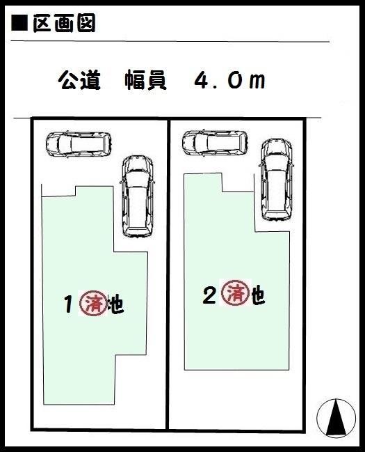 【斑鳩町第11興留 新築一戸建て 】区画図面