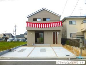 【奈良市七条西町 新築一戸建て 限定1区画!】外観写真