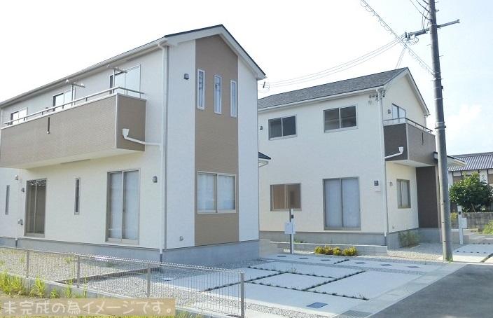 【奈良市左京第2 新築一戸建て 残り1区画!】外観写真