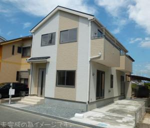 【奈良市五条西第1 新築一戸建て 限定1区画!】外観写真
