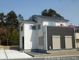 【奈良市三条大路4期 新築一戸建て 限定2区画!】外観写真