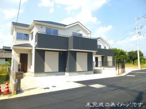【奈良市六条西4期 新築一戸建て 全4区画!】外観写真