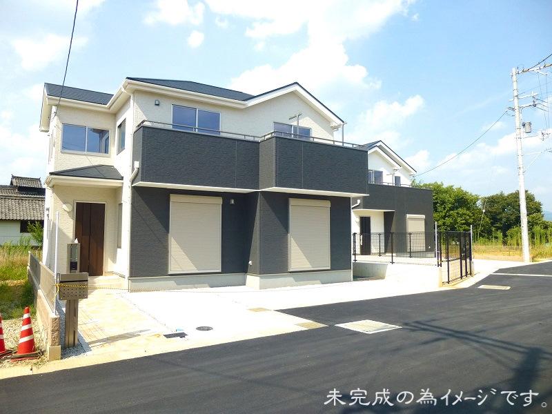 【奈良市六条西4期 新築一戸建て 残り3区画!】外観写真