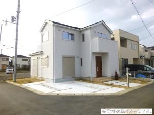 【奈良市七条西町3期 新築一戸建て 限定1区画!】外観写真