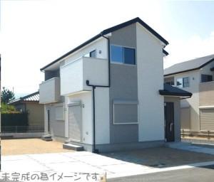 【三郷町第5三室 新築一戸建て 】外観写真