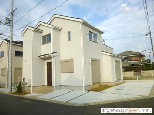 【香芝市五位堂1棟 新築一戸建て 限定1区画!】外観写真