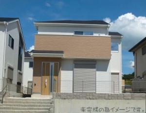 【奈良市第5鳥見町 新築一戸建て 限定1区画!】外観写真