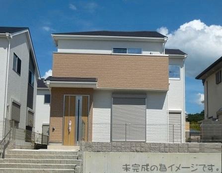 【奈良市第5鳥見町 新築一戸建て 】外観写真