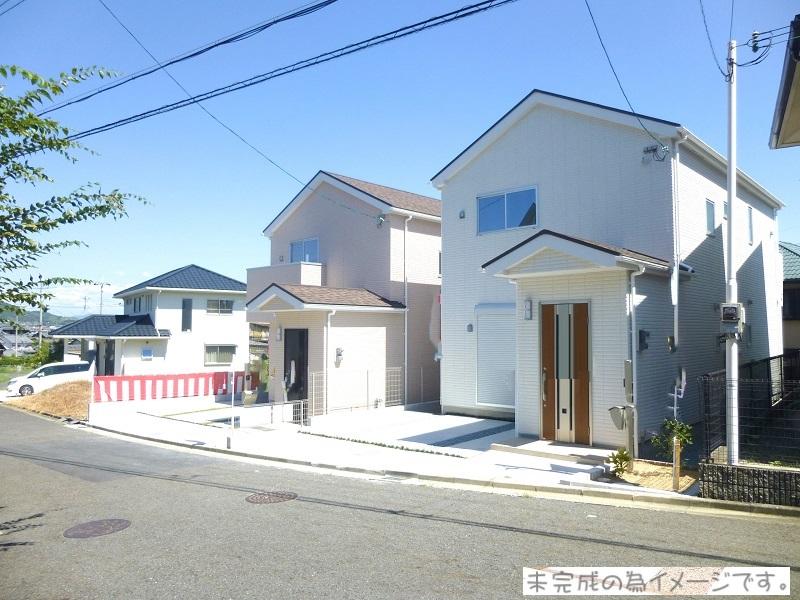 【上牧町中筋出作 新築一戸建て 全7区画!】外観写真