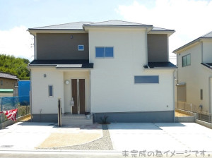 【奈良市神殿町第5 新築一戸建て 限定2区画!】外観写真