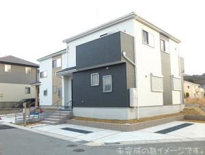 【生駒市第1あすか野北 新築一戸建て 】外観写真